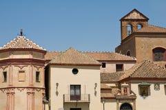 Construções históricas em Malaga Imagens de Stock
