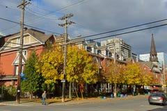 Construções históricas em Ottawa, Canadá fotografia de stock