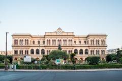 Construções históricas em Palermo foto de stock