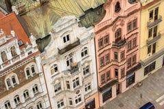 Construções históricas em Plzen, República Checa Fotos de Stock