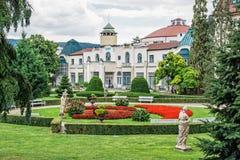 Construções históricas em termas de Piestany, Eslováquia fotos de stock royalty free