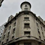 Construções históricas na capital federal de Argentina Buenos Aires imagens de stock royalty free