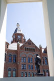 Construções históricas na cidade Dallas Foto de Stock