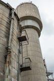 Construções industriais abandonadas, ilha da cacatua, Sydney, NSW Imagens de Stock