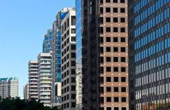 Construções múltiplas Imagens de Stock