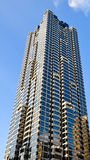 Reflexões em um arranha-céus em Atlanta Fotos de Stock Royalty Free