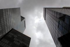 Construções modernas altas Imagens de Stock Royalty Free