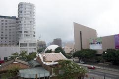 Construções modernas de Kowloon Hong Kong Imagens de Stock Royalty Free
