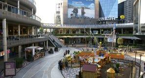 Construções modernas de um shopping Imagem de Stock