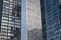 Construções modernas em Chicago Fotografia de Stock