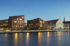 Construções modernas em Copenhaga Imagens de Stock