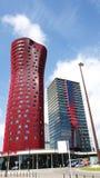 Construções modernas em Hospitalet de Llobregat Fotografia de Stock