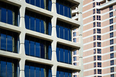 Construções modernas em Kansas City Fotos de Stock Royalty Free