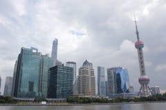 Construções modernas magnific de Shanghai Imagem de Stock