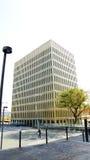 Construções modernas na cidade de justiça Fotografia de Stock Royalty Free