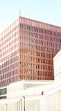 Construções modernas na cidade de justiça Foto de Stock Royalty Free