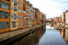 Construções modernas na Espanha Foto de Stock Royalty Free