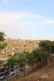 Construções na cidade de Amman, Jordânia Foto de Stock Royalty Free