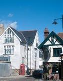 Construções na cidade de Whitstable Fotografia de Stock Royalty Free