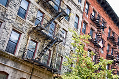 Construções no Greenwich Village, New York fotografia de stock