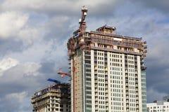 Construções novas Fotos de Stock Royalty Free