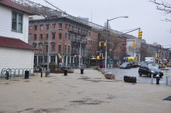 Construções novas de Manhattan Jork Fotografia de Stock Royalty Free