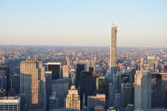 Construções novas de Manhattan Jork Fotografia de Stock