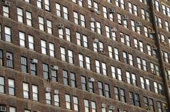 Construções NYC do fundo Foto de Stock Royalty Free