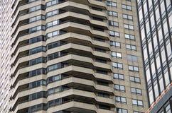 Construções NYC do fundo Fotografia de Stock Royalty Free