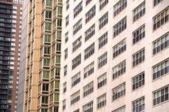 Construções NYC do fundo Imagem de Stock