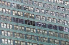 Construções NYC do fundo Fotografia de Stock