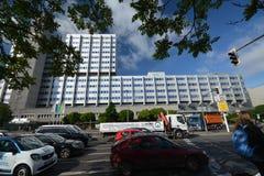 Construções Pharma AG, de administração e de laboratório de Bayer de fármacos dos cuidados médicos de Bayer em Berlim, Alemanha Fotografia de Stock Royalty Free
