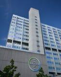 Construções Pharma AG, de administração e de laboratório de Bayer de fármacos dos cuidados médicos de Bayer em Berlim, Alemanha Imagem de Stock