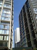 Construções que alcançam para o céu Fotografia de Stock Royalty Free