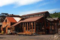 Construções que oxidam em Quincy Smelter Imagem de Stock