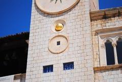 Construções religiosas Dubrovnik, Croácia Foto de Stock