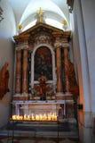 Construções religiosas Dubrovnik, Croácia Fotos de Stock