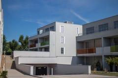 Construções residenciais Imagens de Stock Royalty Free