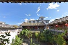 Construções residenciais características de Yunnan Dali fotos de stock royalty free