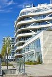 Construções residenciais contemporâneas em Aarhus, Dinamarca Fotografia de Stock