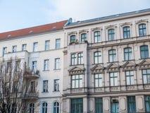 Construções residenciais do estilo velho e novo Fotografia de Stock