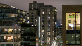 Construções residenciais modernas Fotografia de Stock Royalty Free