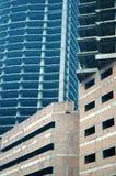 2 construções sob a construção Fotos de Stock Royalty Free