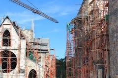 Construções sob a construção Imagem de Stock