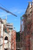 Construções sob a construção Fotografia de Stock Royalty Free