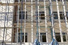Construções sob a construção Fotografia de Stock