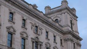 Construções típicas em Whitehall Londres filme