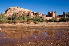 Construções velhas da argila em Maroko sul Imagem de Stock Royalty Free