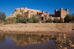 Construções velhas da argila em Maroko sul Fotos de Stock