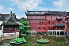 Construções velhas de Shanghai foto de stock